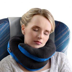 Almohada de viaje con soporte de mentón