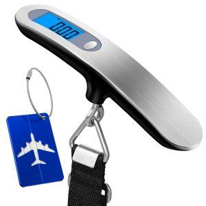 Báscula de viaje para maletas