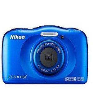 Cámara Nikon de colores w100