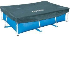 Cubierta para piscinas desmontables azul marino