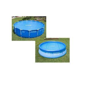 Cubierta para piscinas desmontables de polietileno