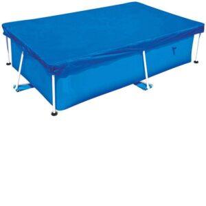 Cubierta para piscinas desmontables rectangulares
