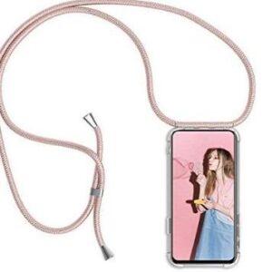 Funda resistente para iPhone X Micase con cuerdas