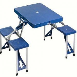 Mesa de camping azul Cao