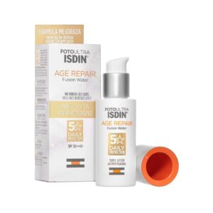 Protector solar facial age repair
