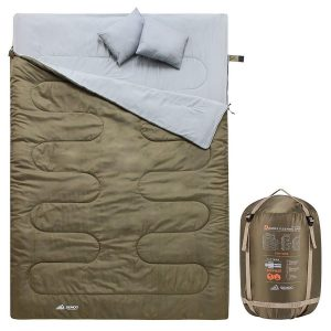 Saco de dormir doble impermeable