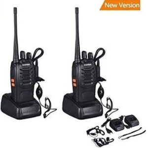 Walkie talkies profesionales recargables